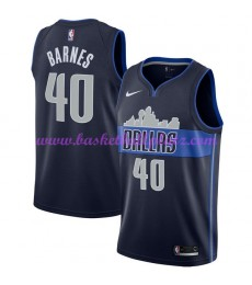 Dallas Mavericks Trikot Herren 2018-19 Harrison Barnes 40# Statement Edition Basketball Trikots NBA ..