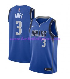 Dallas Mavericks Trikot Herren 2018-19 Nerlens Noel 3# Icon Edition Basketball Trikots NBA Swingman..