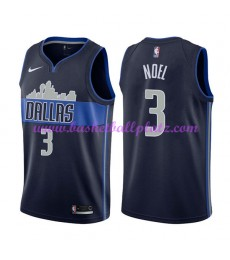 Dallas Mavericks Trikot Herren 2018-19 Nerlens Noel 3# Statement Edition Basketball Trikots NBA Swin..