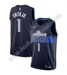 Dallas Mavericks Trikot Herren 2019-20 Dennis Smith Jr 1# Marine Statement Edition Basketball Trikot..