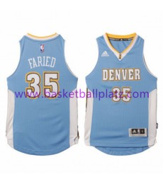 Denver Nuggets Trikot Kinder 15-16 Kenneth Faried 35# Road Basketball Trikot Swingman..