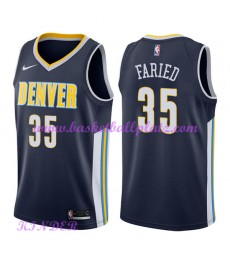 Denver Nuggets NBA Trikot Kinder 2018-19 Kenneth Faried 35# Icon Edition Basketball Trikots Swingman..