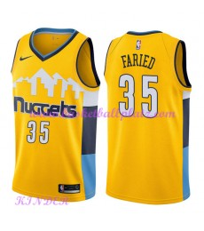 Denver Nuggets NBA Trikot Kinder 2018-19 Kenneth Faried 35# Statement Edition Basketball Trikots Swi..