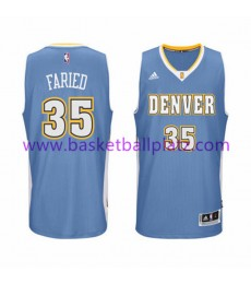 Denver Nuggets Trikot Herren 15-16 Kenneth Faried 35# Road Basketball Trikot Swingman