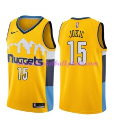 Denver Nuggets Trikot Herren 2018-19 Nikola Jokic 15# Statement Edition Basketball Trikots NBA Swing..
