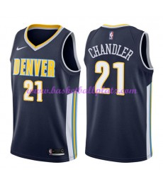 Denver Nuggets Trikot Herren 2018-19 Wilson Chandler 21# Icon Edition Basketball Trikots NBA Swingma..