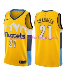Denver Nuggets Trikot Herren 2018-19 Wilson Chandler 21# Statement Edition Basketball Trikots NBA Sw..