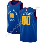 Denver Nuggets Trikot Herren 2019-20 Blau Statement Edition Basketball Trikots NBA Swingman