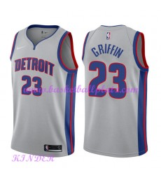 Detroit Pistons NBA Trikot Kinder 2018-19 Blake Griffin 23# Statement Edition Basketball Trikots Swingman