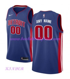 Detroit Pistons NBA Trikot Kinder 2018-19 Icon Edition Basketball Trikots Swingman..
