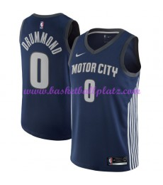 Detroit Pistons Trikot Herren 2018-19 Andre Drummond 0# City Edition Basketball Trikots NBA Swingman..