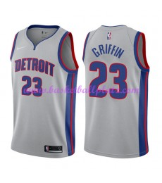 Detroit Pistons Trikot Herren 2018-19 Blake Griffin 23# Statement Edition Basketball Trikots NBA Swingman