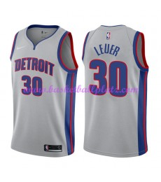 Detroit Pistons Trikot Herren 2018-19 Jon Leuer 30# Statement Edition Basketball Trikots NBA Swingma..
