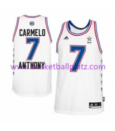 East All Star Game Trikot Herren 2015 Carmelo Anthony 7# Basketball Trikot Swingman..