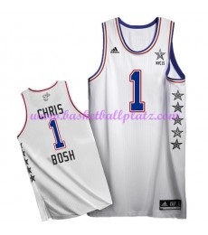 East NBA All Star Game Trikot Herren 2015 Chris Bosh 1# Basketball Trikots Swingman..