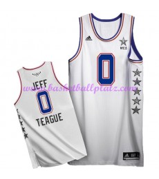 East NBA All Star Game Trikot Herren 2015 Jeff Teague 0# Basketball Trikots Swingman..