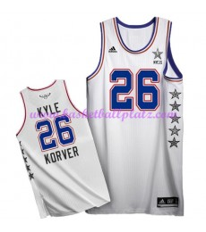 East NBA All Star Game Trikot Herren 2015 Kyle Korver 26# Basketball Trikots Swingman..
