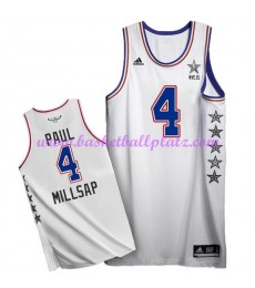 East NBA All Star Game Trikot Herren 2015 Paul Millsap 4# Basketball Trikots Swingman..