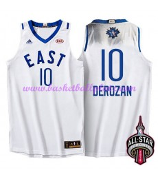 East NBA All Star Game Trikot Herren 2016 Demar Derozan 10# Basketball Trikots Swingman..