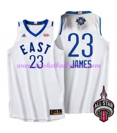 East NBA All Star Game Trikot Herren 2016 Lebron James 23# Basketball Trikots Swingman