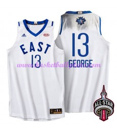 East NBA All Star Game Trikot Herren 2016 Paul George 13# Basketball Trikots Swingman