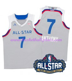 East NBA All Star Game Trikot Herren 2017 Carmelo Anthony 7# Basketball Trikots Swingman