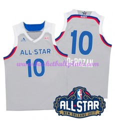 East NBA All Star Game Trikot Herren 2017 Demar Derozan 10# Basketball Trikots Swingman