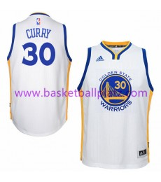 Golden State Warriors Trikot Kinder 15-16 Stephen Curry 30# Home Basketball Trikot Swingman