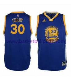 Golden State Warriors Trikot Kinder 15-16 Stephen Curry 30# Road Basketball Trikot Swingman
