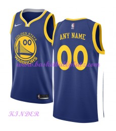 Golden State Warriors NBA Trikot Kinder 2018-19 Icon Edition Basketball Trikots Swingman..
