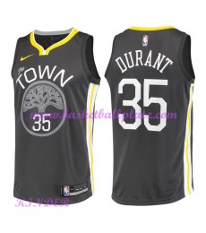 Golden State Warriors NBA Trikot Kinder 2018-19 Kevin Durant 35# Statement Edition Basketball Trikots Swingman