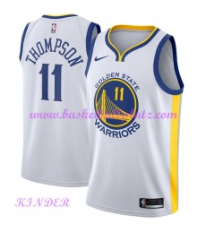Golden State Warriors NBA Trikot Kinder 2018-19 Klay Thompson 11# Association Edition Basketball Trikots Swingman