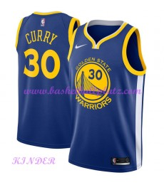 Golden State Warriors NBA Trikot Kinder 2018-19 Stephen Curry 30# Icon Edition Basketball Trikots Swingman