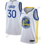 Golden State Warriors Trikot Kinder 2019-20 Stephen Curry 30# Weiß Association Edition NBA Trikots Swingman