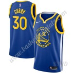 Golden State Warriors Trikot Kinder 2019-20 Stephen Curry 30# Blau Icon Edition NBA Trikots Swingman