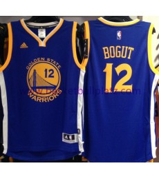 Golden State Warriors Trikot Herren 15-16 Andrew Bogut 12# Road Basketball Trikot Swingman
