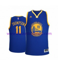 Golden State Warriors Trikot Herren 15-16 Klay Thompson 11# Road Basketball Trikot Swingman