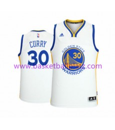 Golden State Warriors Trikot Herren 15-16 Stephen Curry 30# Home Basketball Trikot Swingman