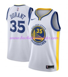Golden State Warriors Trikot Herren 2018-19 Kevin Durant 35# Association Edition Basketball Trikots ..