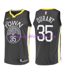 Golden State Warriors Trikot Herren 2018-19 Kevin Durant 35# Statement Edition Basketball Trikots NB..