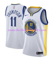 Golden State Warriors Trikot Herren 2018-19 Klay Thompson 11# Association Edition Basketball Trikots NBA Swingman