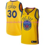 Golden State Warriors Trikot Herren 2018-19 Stephen Curry 30# City Edition Basketball Trikots NBA Swingman