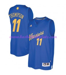 Günstige NBA Weihnachten Basketball Trikots Golden State Warriors Herren 2016 Klay Thompson 11# Swingman