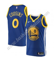 Golden State Warriors Trikot Herren 2019-20 DeMarcus Cousins 15# Blau Icon Edition Basketball Trikot..