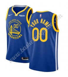 Golden State Warriors Trikot Herren 2019-20 Blau Icon Edition Basketball Trikots NBA Swingman..