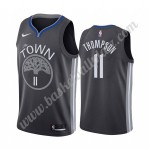 Golden State Warriors Trikot Herren 2019-20 Klay Thompson 11# Schwarz City Edition Basketball Trikots NBA Swingman