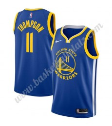 Golden State Warriors Trikot Herren 2019-20 Klay Thompson 11# Blau Icon Edition Basketball Trikots N..