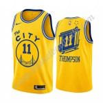 Golden State Warriors Trikot Herren 2019-20 Klay Thompson 11# Gelb Classics Edition Basketball Trikots NBA Swingman