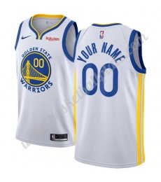 Golden State Warriors Trikot Herren 2019-20 Weiß Association Edition Basketball Trikots NBA Swingman..