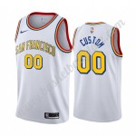 Golden State Warriors Trikot Herren 2019-20 Weiß Classics Edition Basketball Trikots NBA Swingman